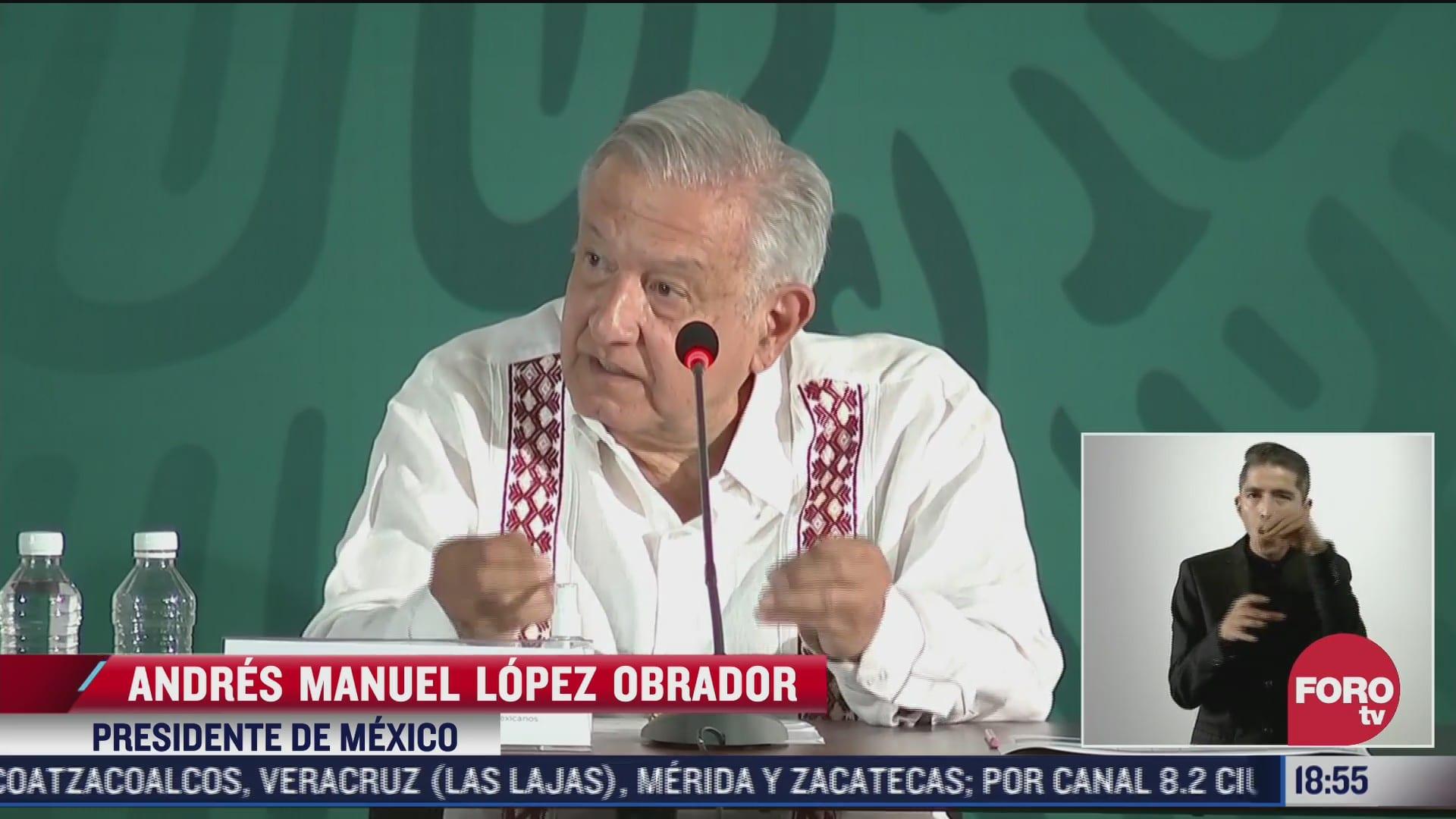 amlo anuncia plan de apoyo para michoacan