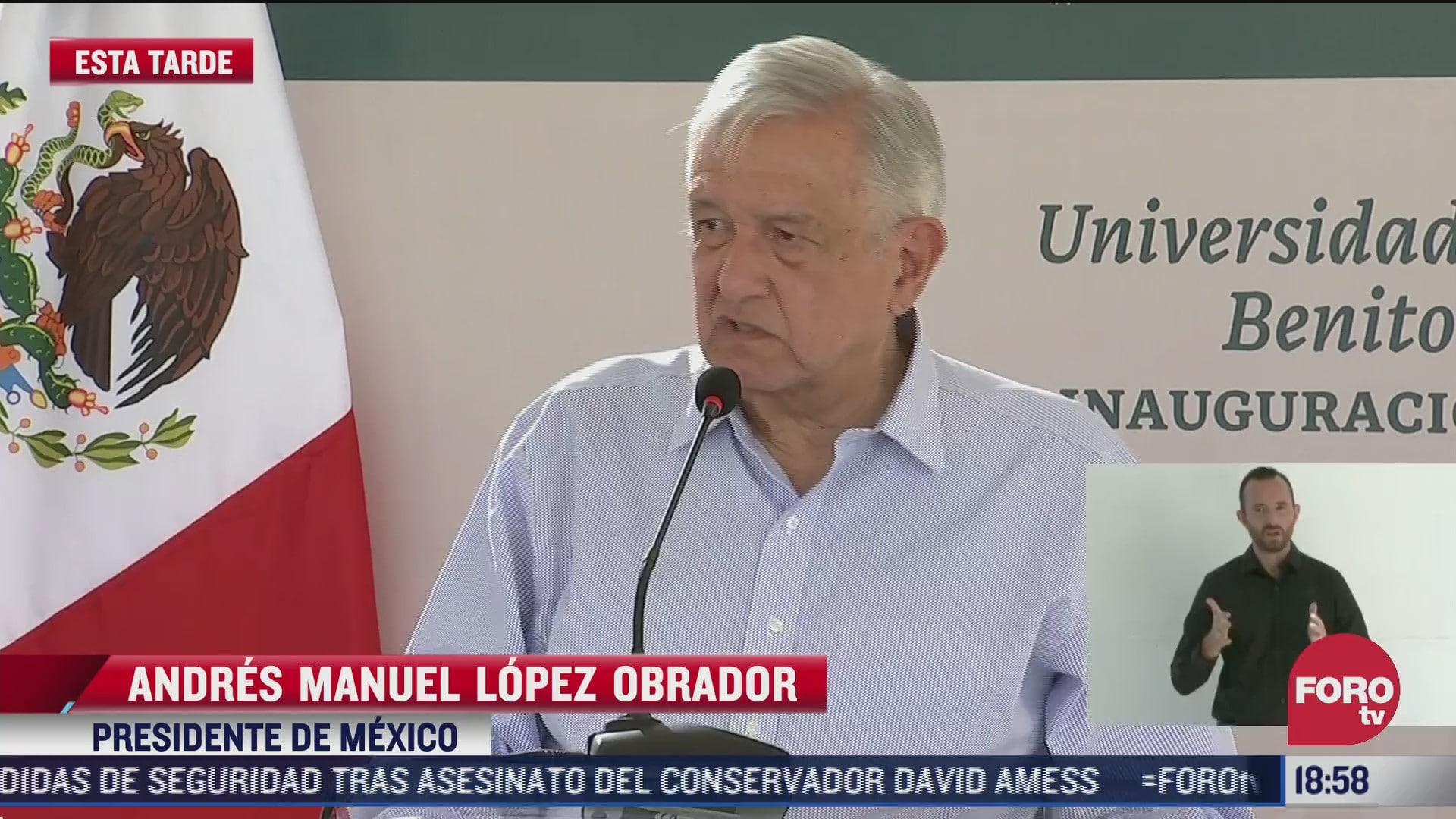amlo destaca las universidades del sistema benito juarez