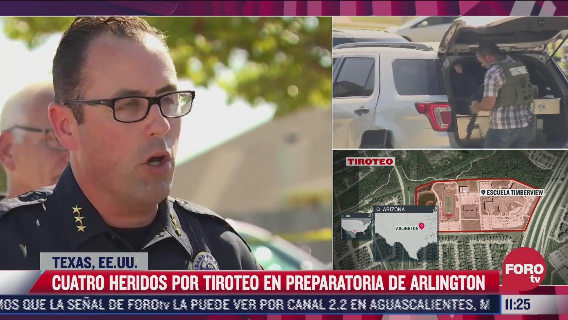 autoridades de airlintong texas identifican al autor del tiroteo y reportan 4 heridos