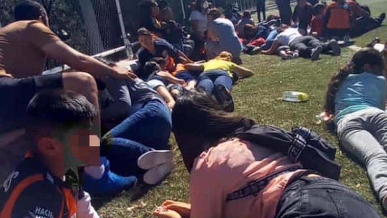 Familiares de los menores vivieron momentos de pánico al escuchar la balacera