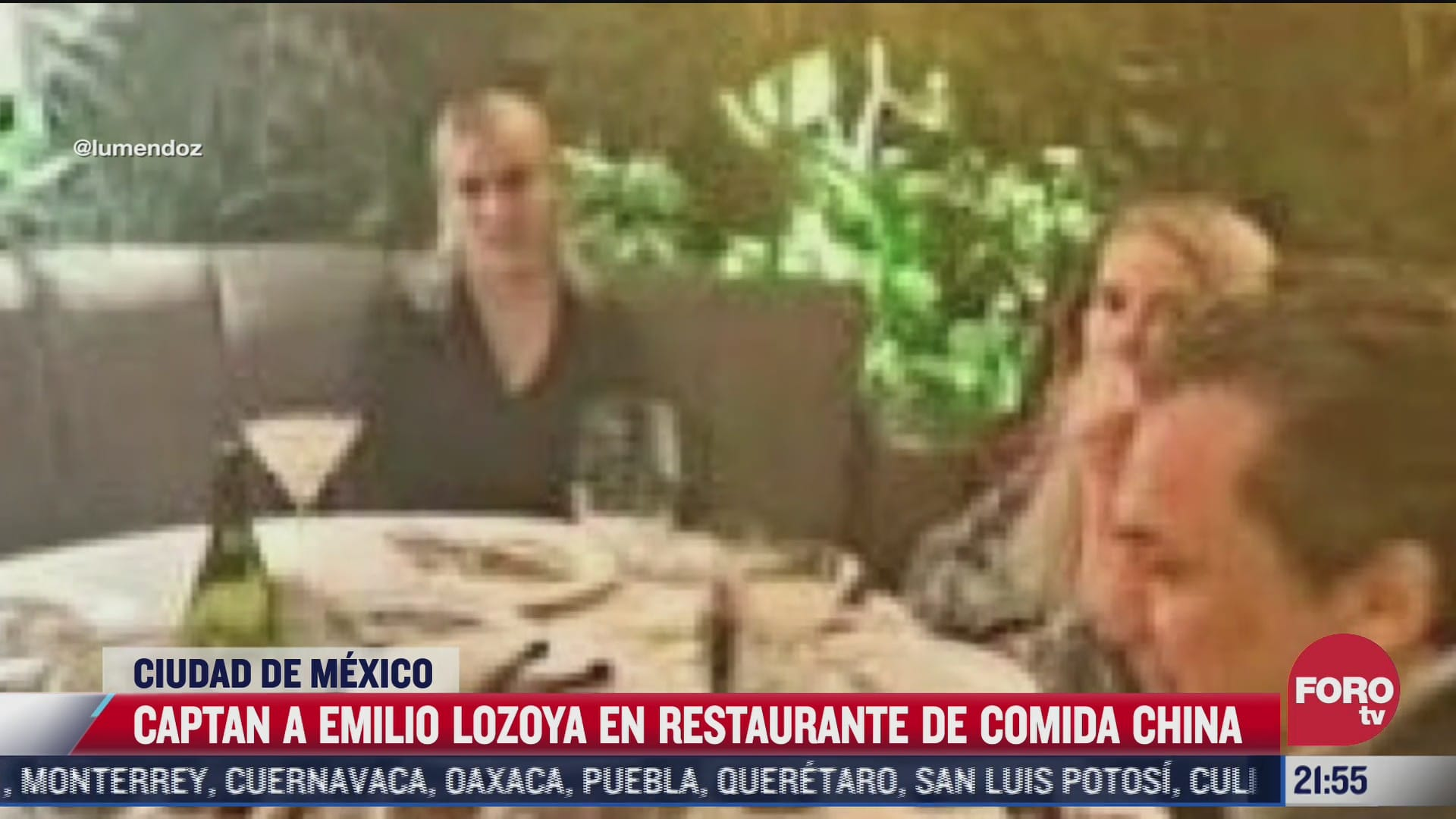 captan a emilio lozoya en lujoso restaurante