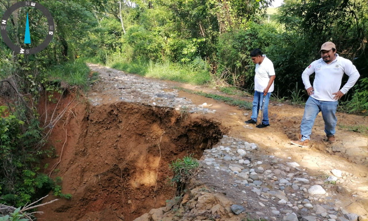 Chiapas sufre daños por las lluvias de las últimas horas