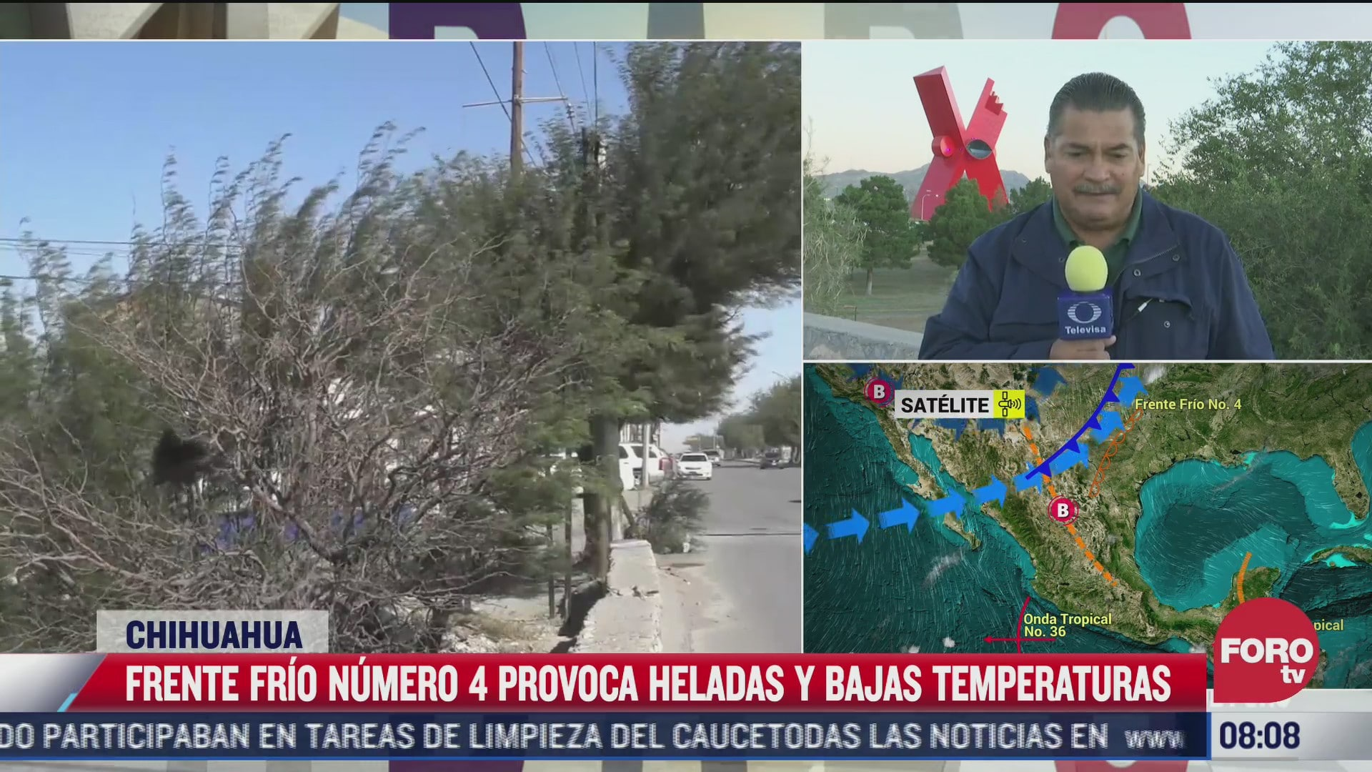 chihuahua registra las primeras heladas de la temporada