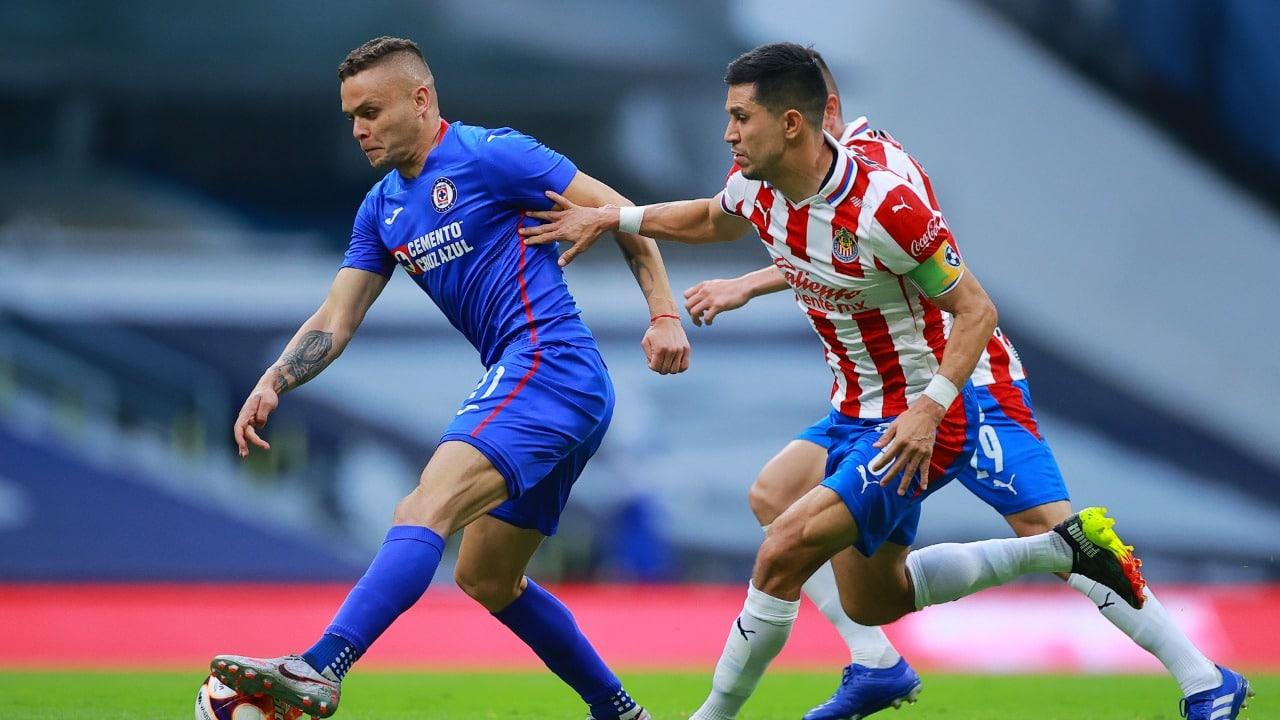 Chivas vs Cruz Azul, horario y transmisión para ver en vivo 2021