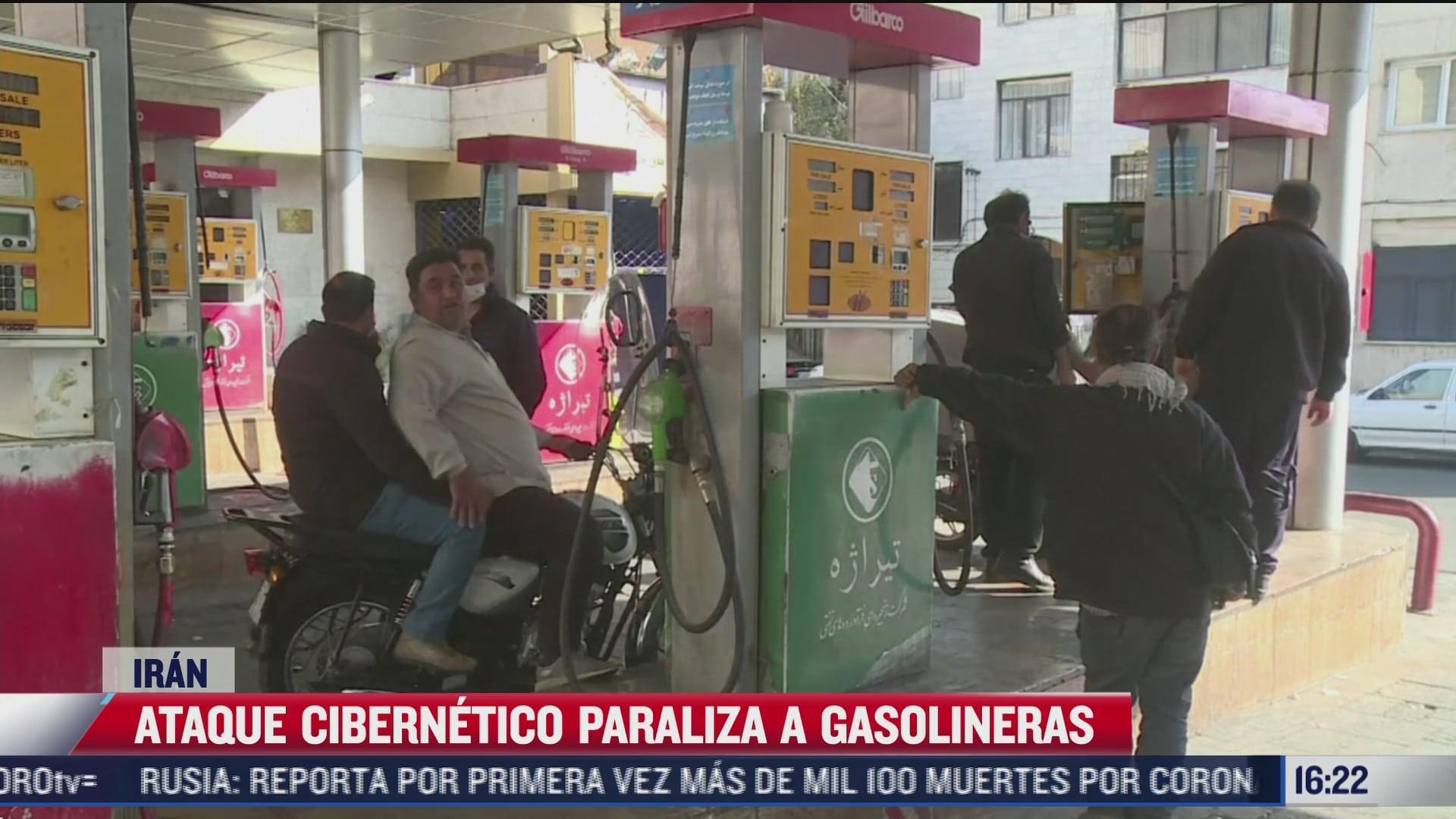 ciberataque paraliza gasolineras en iran