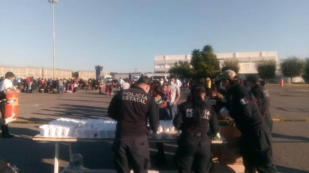 Concluye atención brindada a 632 migrantes rescatados en el municipio de Hidalgo