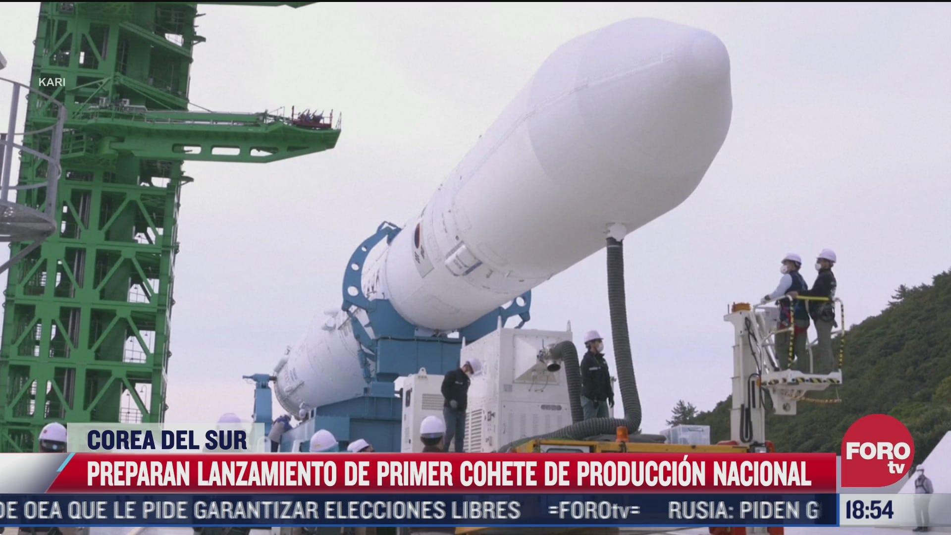 corea del sur lanzara su primer vehiculo espacial