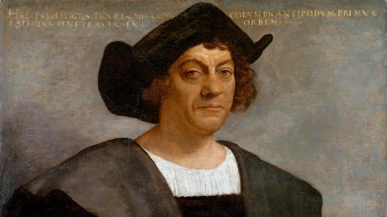 Cristóbal Colón, América, 12 de octubre, retrato, pintura