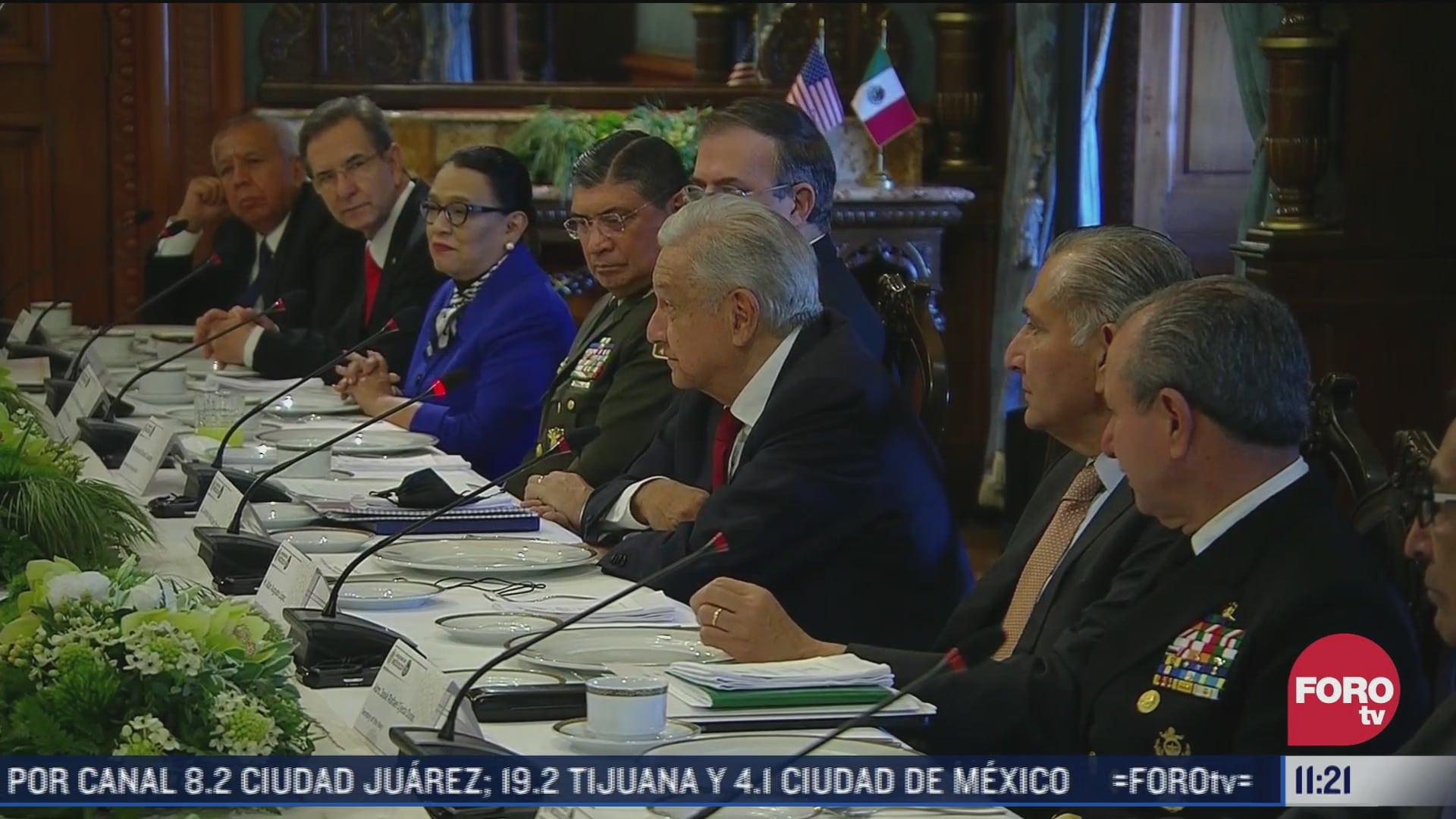 cuales son los acuerdos a los que llegaron mexico y eeuu en el dialogo de alto nivel de seguridad