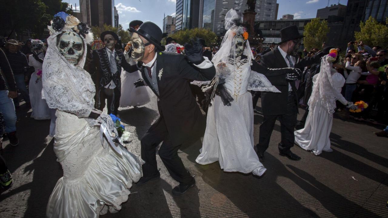 Desfile de Día de Muertos en la CDMX 2021