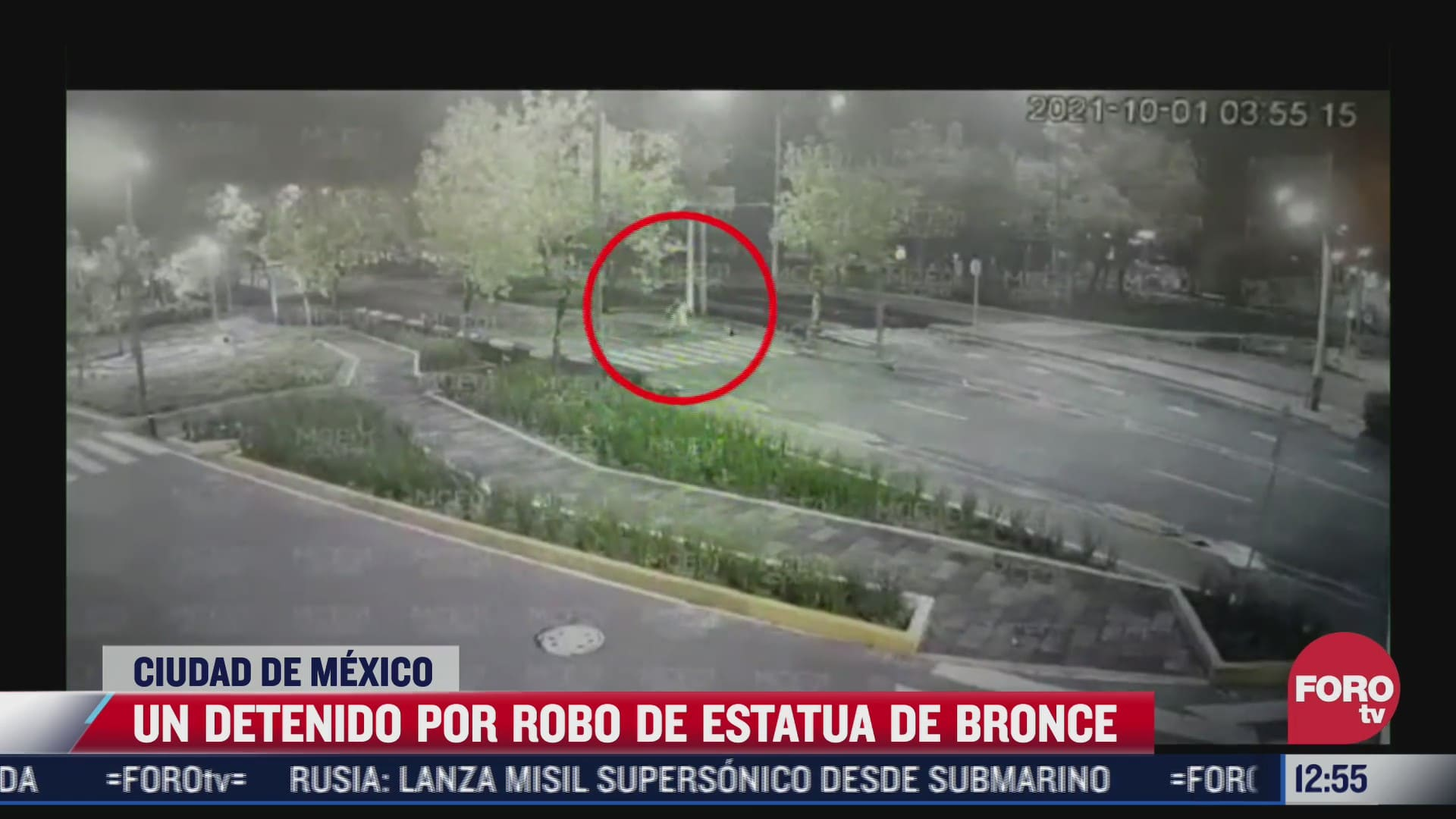 detienen a hombre que robo estatua de bronce en peralvillo cdmx