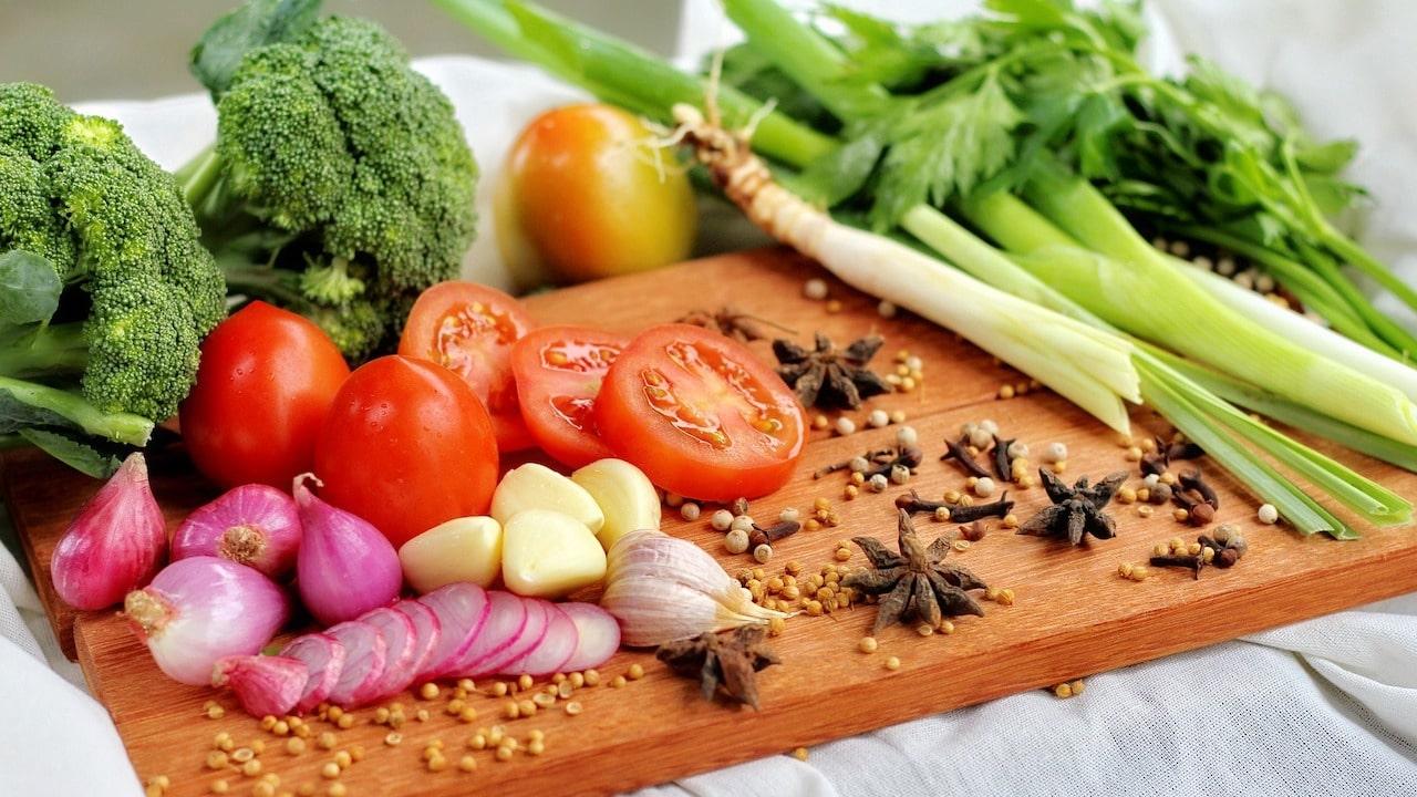 Dieta vegetales covid vacunas