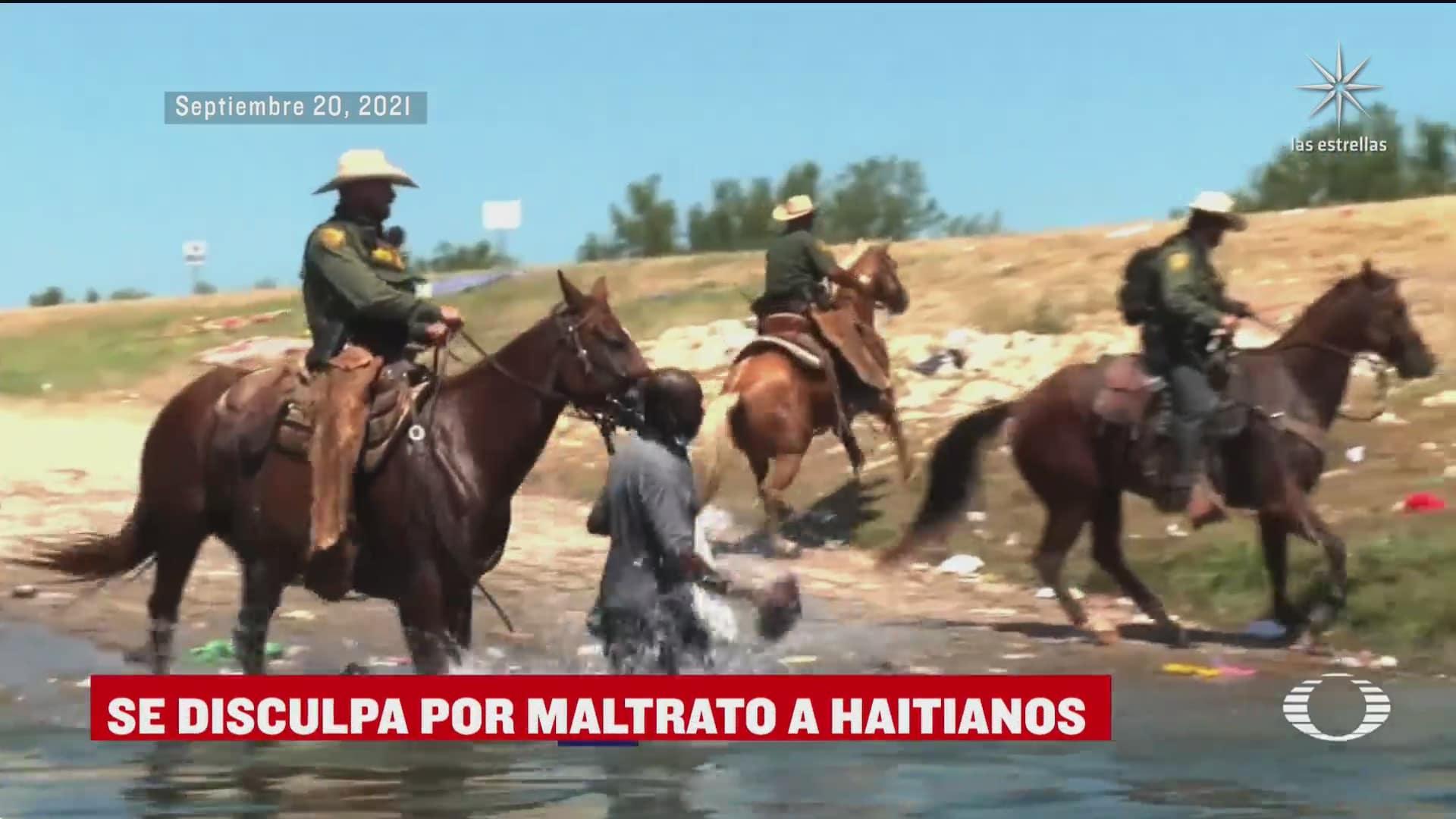 eeuu se disculpa por trato que migrantes haitianos recibieron en la frontera