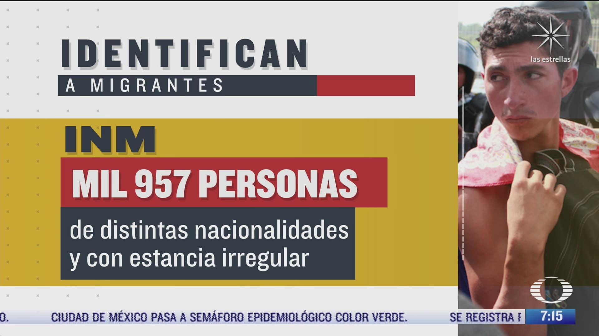 el inm identifica a casi dos mil migrantes con estancia irregular