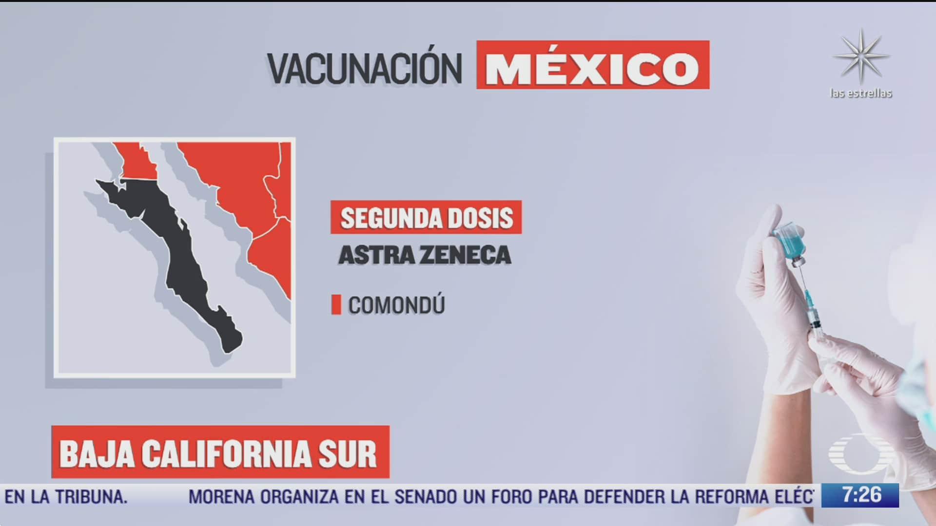 en que estados inicia la vacunacion covid hoy 21 de octubre de