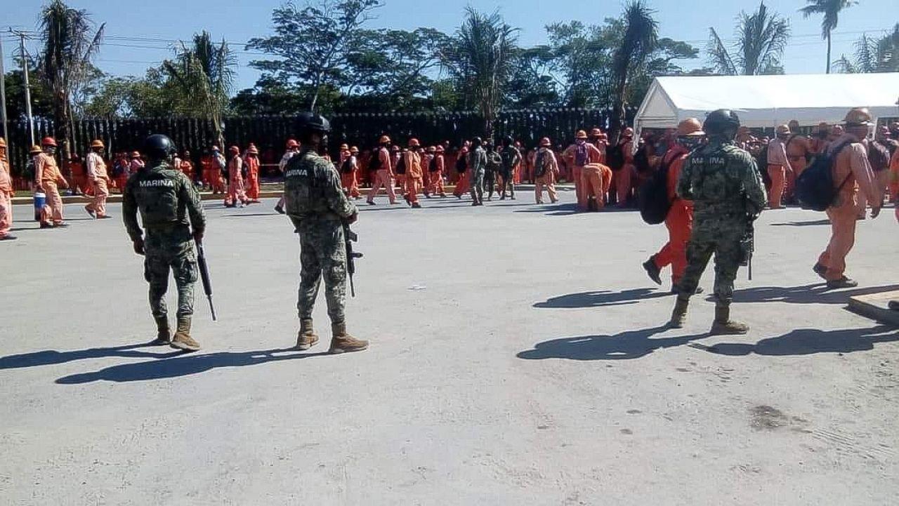Enfrentamiento en refinería de Dos Bocas, ¿asunto de líderes sindicales?