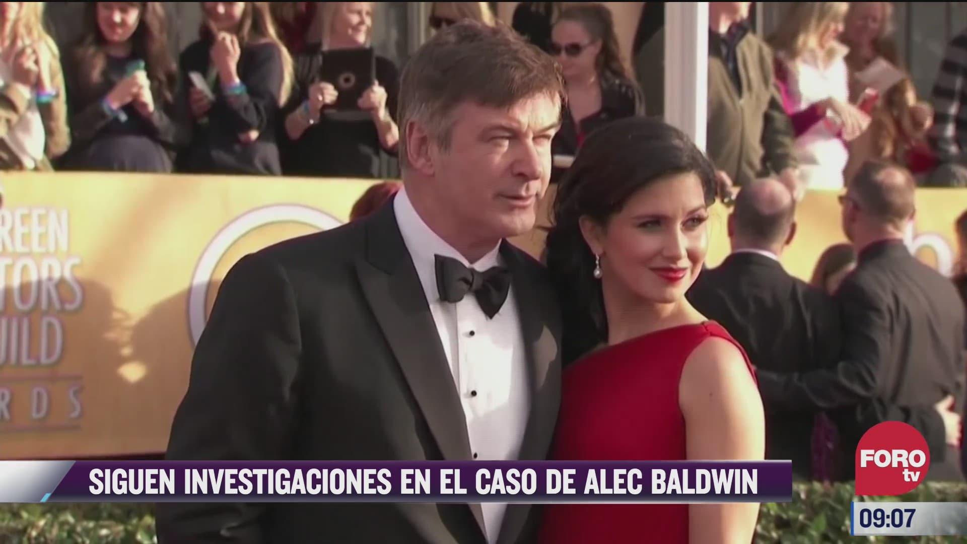 espectaculosenexpreso siguen investigaciones en el caso de alec baldwin