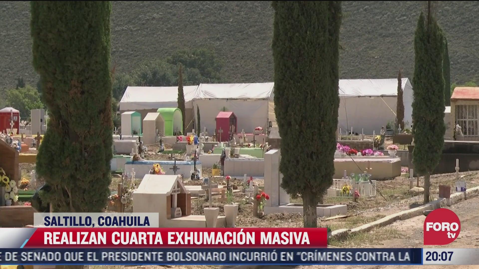 exhuman en saltillo 200 cuerpos de fosas comunes en panteon municipal