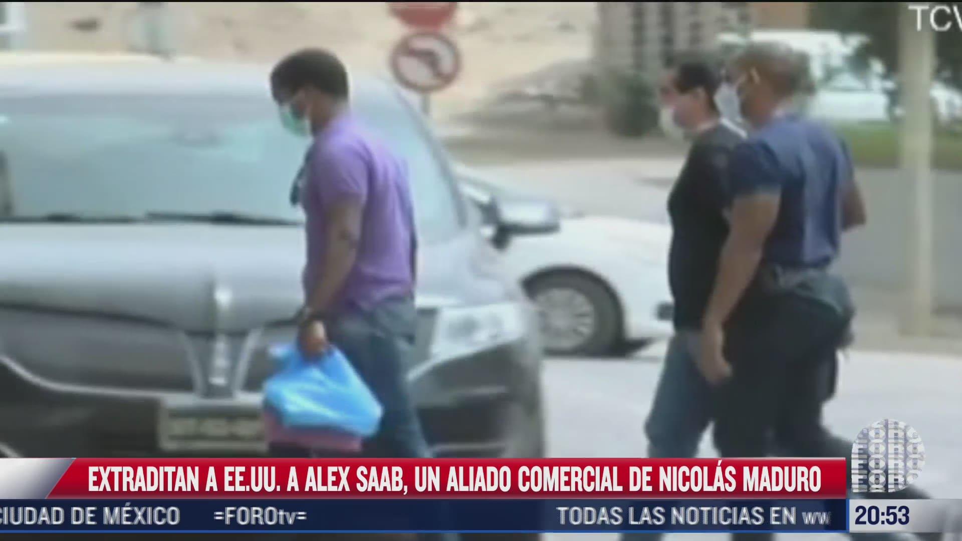 extraditan a ee uu a alex saab un aliado comercial de nicolas maduro