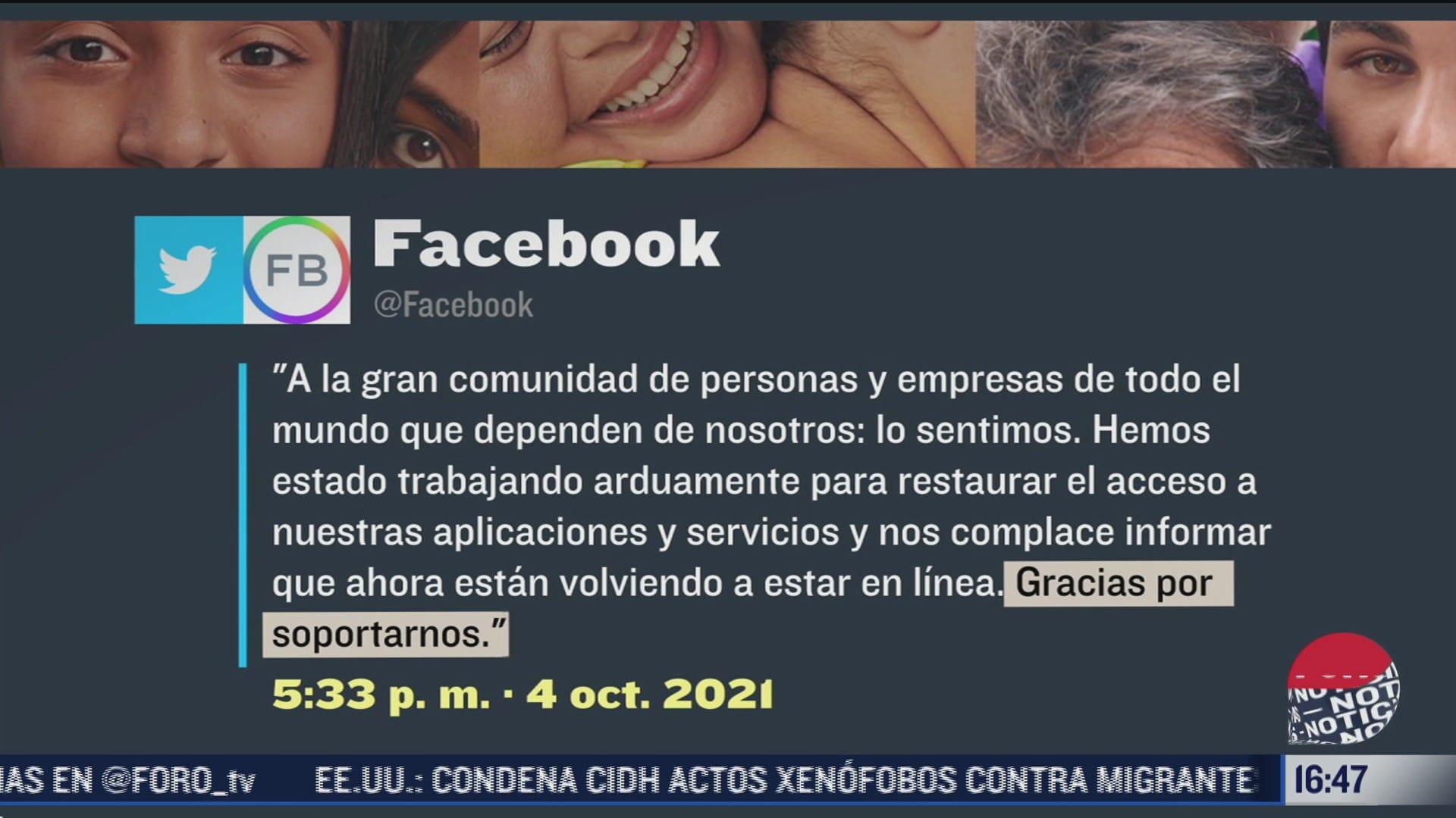 facebook revela mas detalles de las causas de interrupcion del servicio