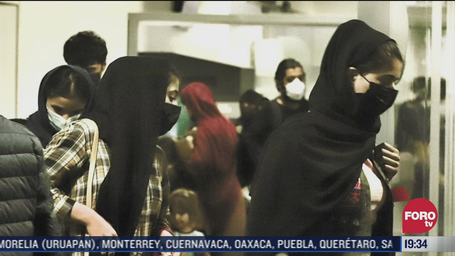 familia afgana inicia proceso para solicitar asilo en mexico