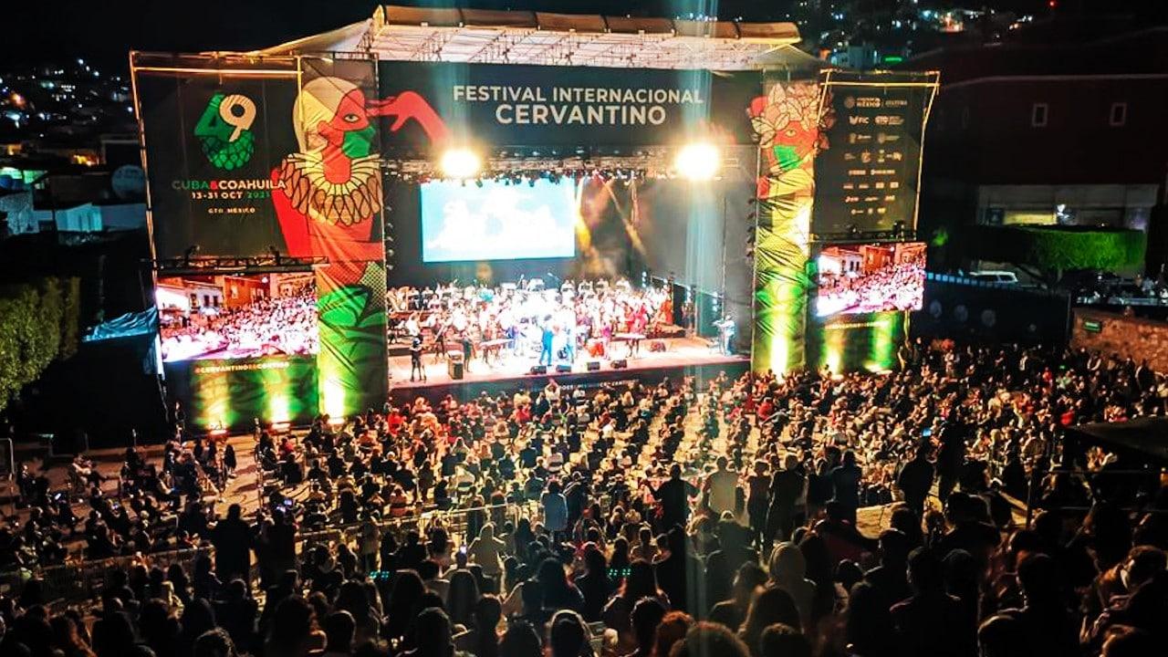 Festival Cervantino 2021 arranca con público en Guanajuato tras más de un año de pandemia