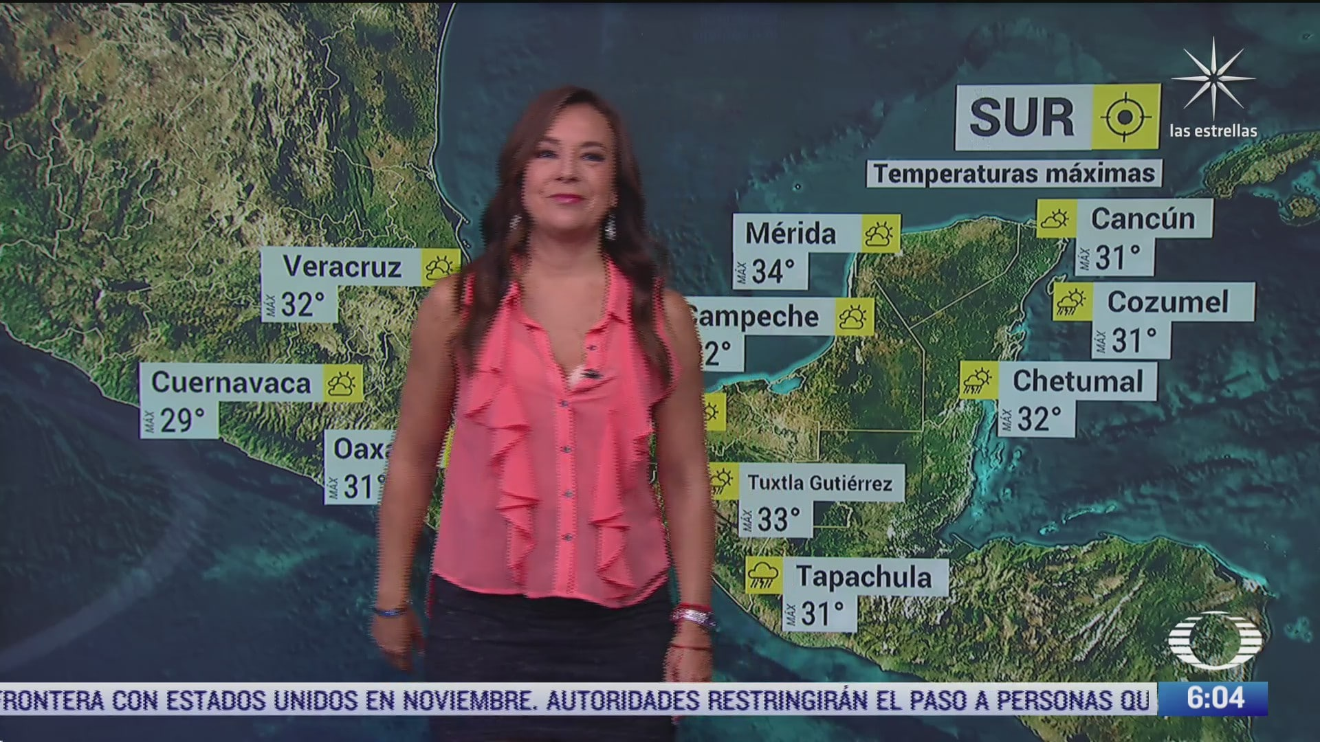 frente frio 4 provocara lluvias en nuevo leon tamaulipas y san luis potosi