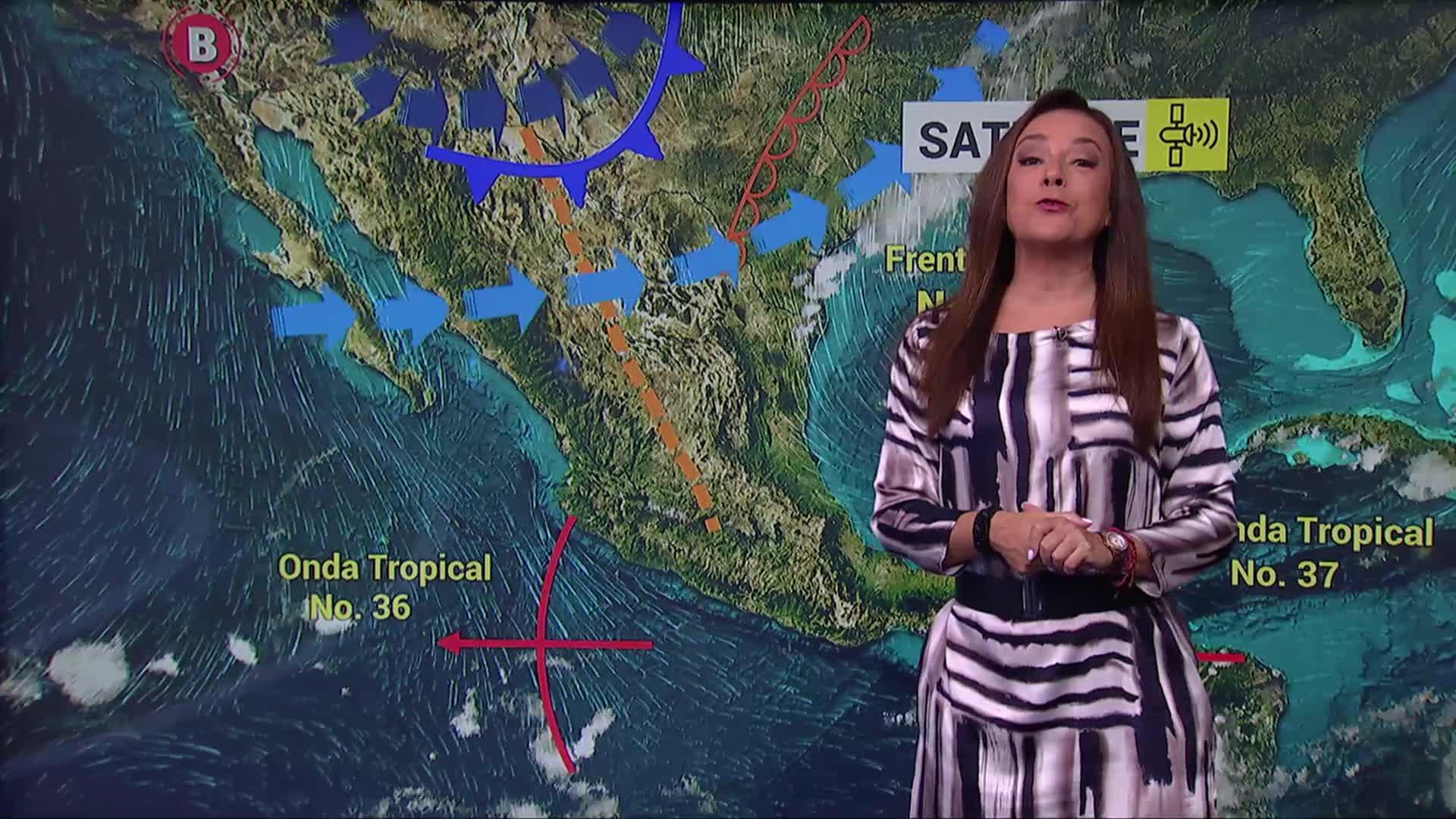 frente frio 4 provocara lluvias fuertes en nuevo leon y tamaulipas