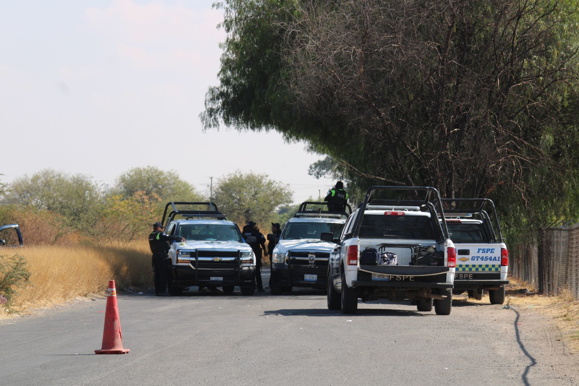 Autoridades en la comunidad de Santa Rosa de Lima, Villagrán (Cuartoscuro)