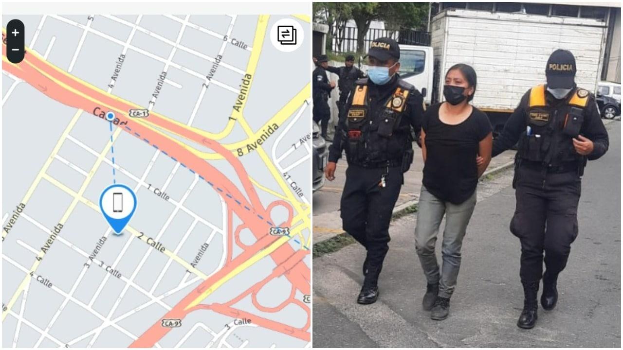 Policía, Guatemala, GSP, robo, celular, Twitter