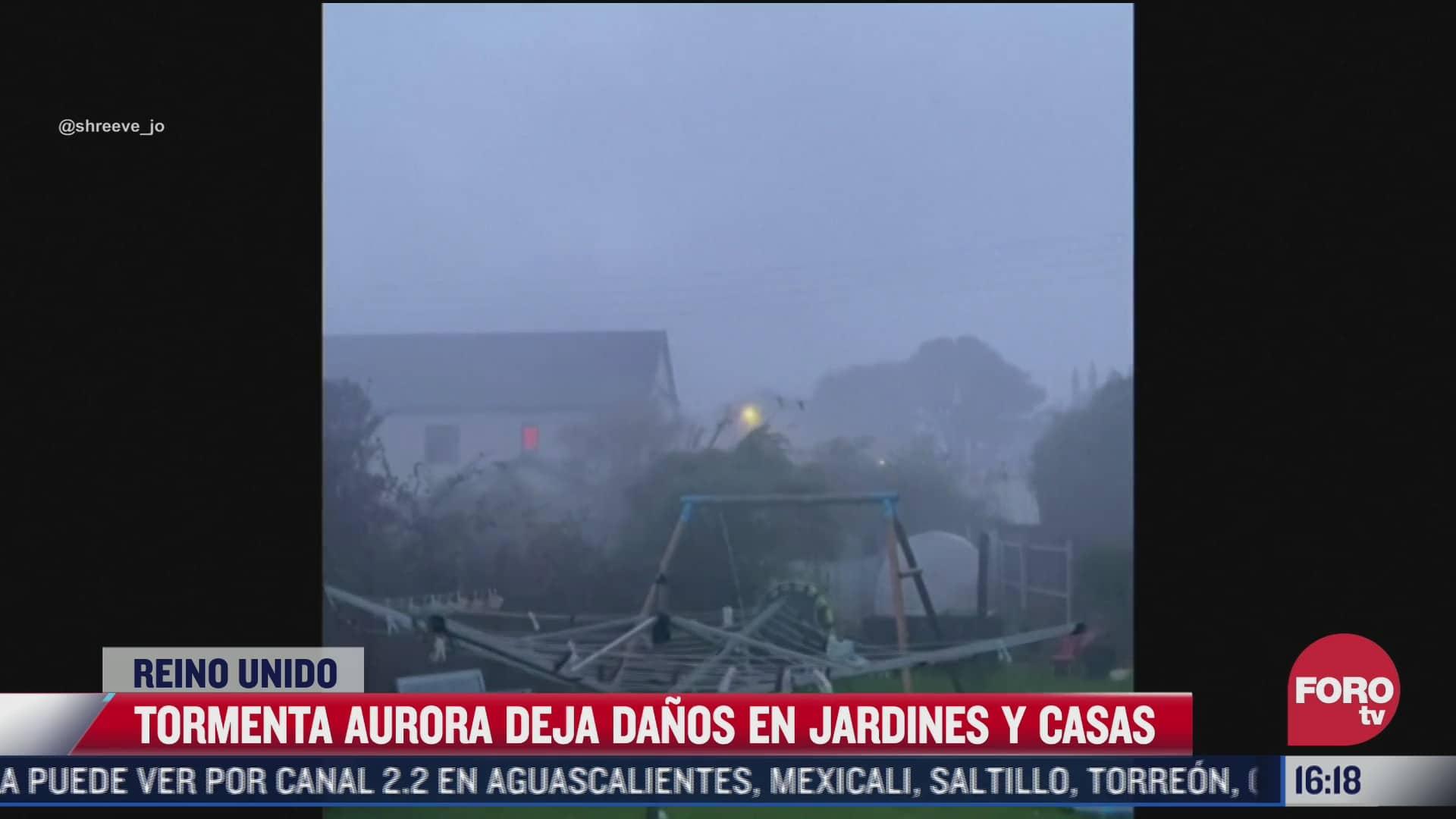 inglaterra sufre afectaciones por tormentas aurora