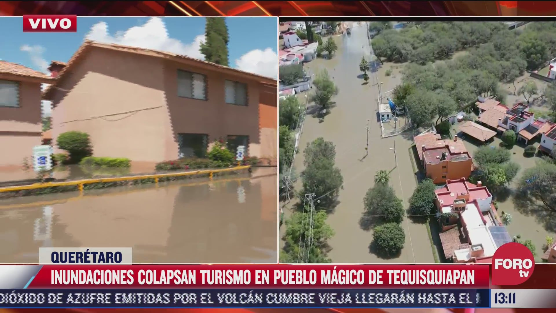 inundaciones colapsan turismo en tequisquiapan queretaro