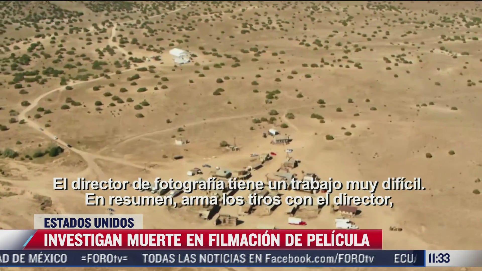 investigan muerte en filmacion de pelicula de alec baldwi