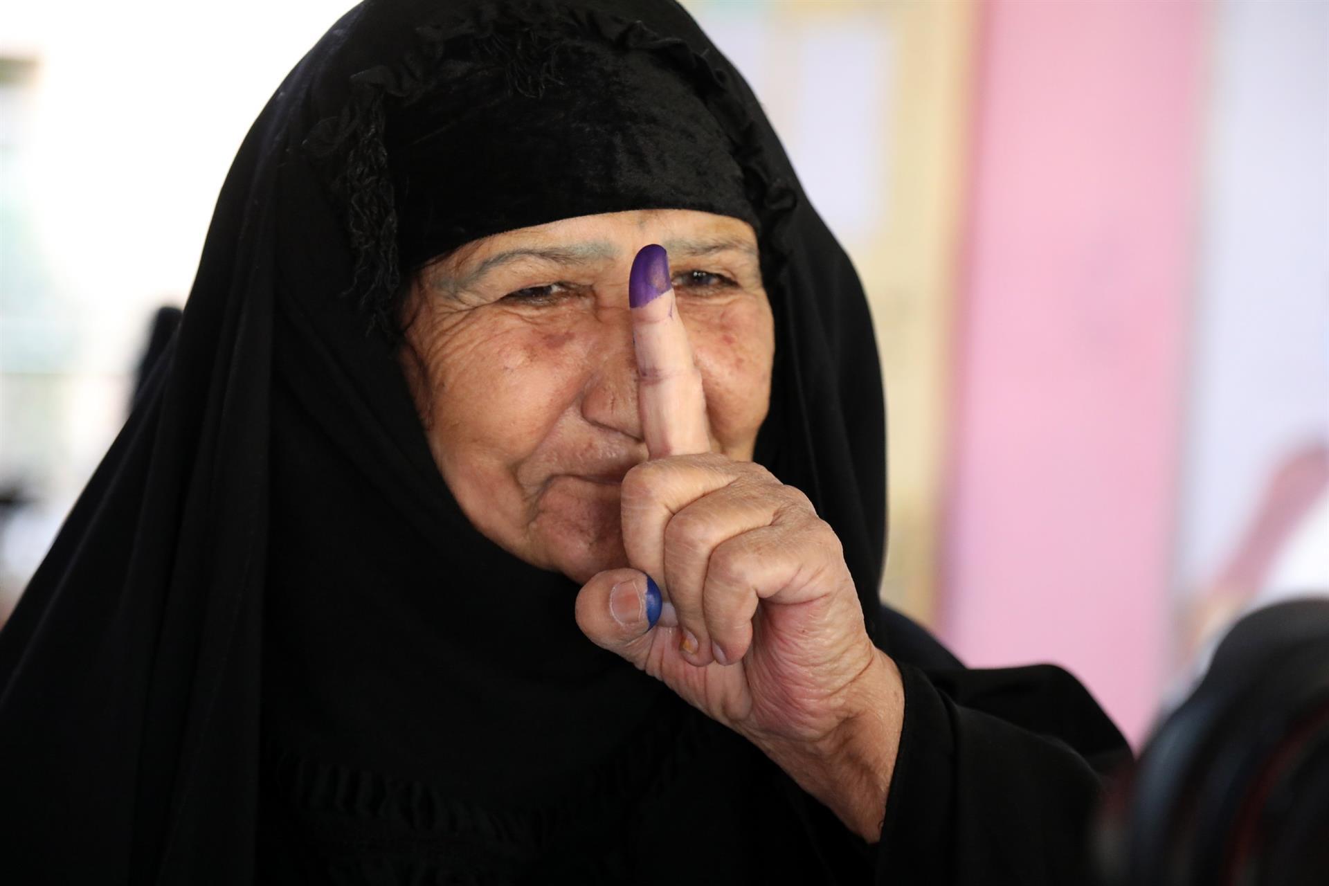 Irak realiza elecciones parlamentarias marcadas por el abstencionismo
