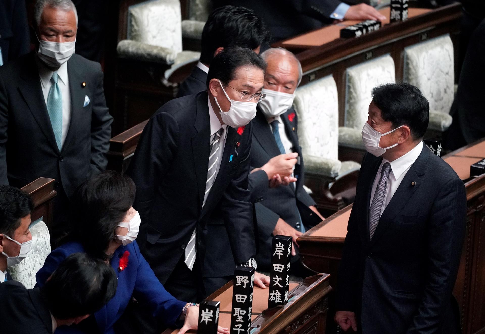 Primer ministro de Japón disuelve parlamento antes de las elecciones del próximo 31 de octubre