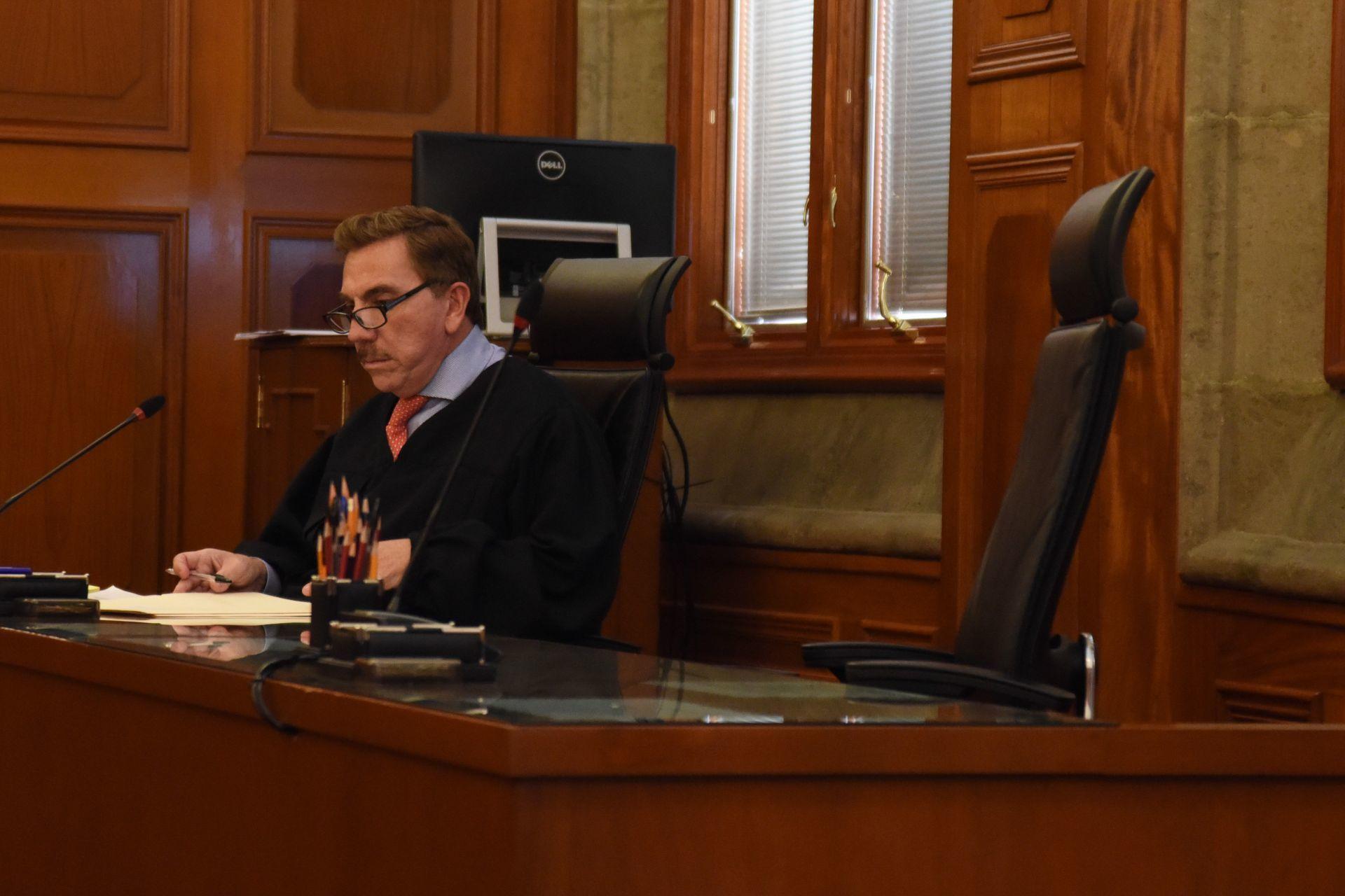 CIUDAD DE MÉXICO, 11JULIO2018.- Sesión de la Segunda Sala de la Suprema Corte de Justicia de la Nación (SCJN), la cual es presidida por el ministro Eduardo Medina Mora Icaza. En la imagen Javier Laynez Potisek. FOTO: SCJN /CUARTOSCURO.COM