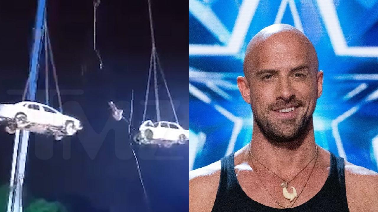 Jonathan Goodwin sufre accidente en programa America's Got Talente Extreme
