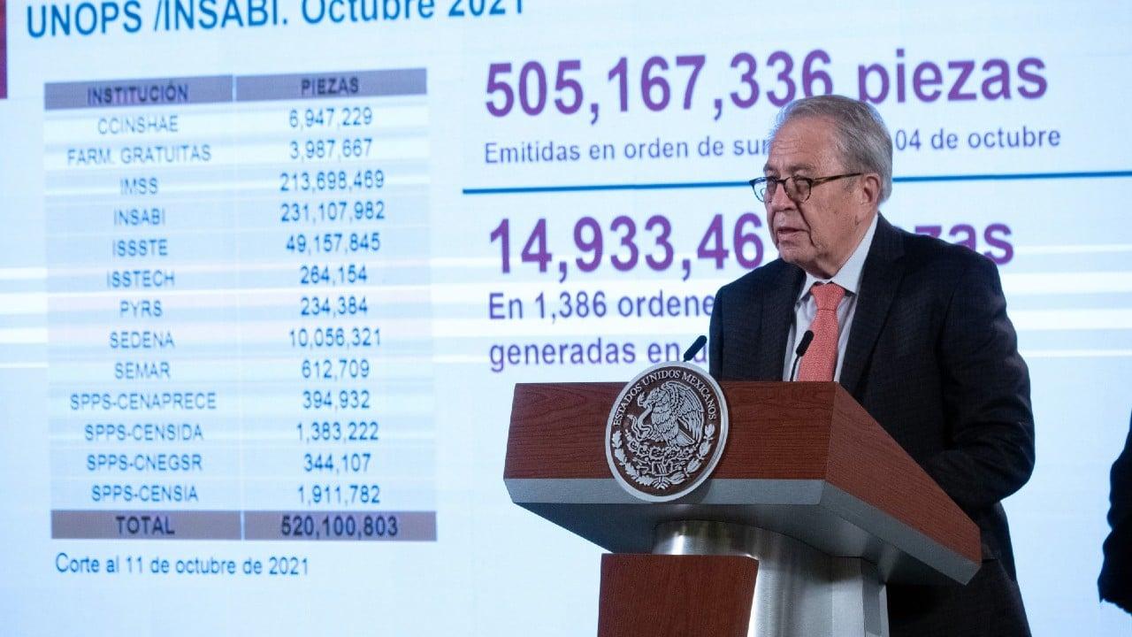 Jorge Alcocer, secretario de Salud