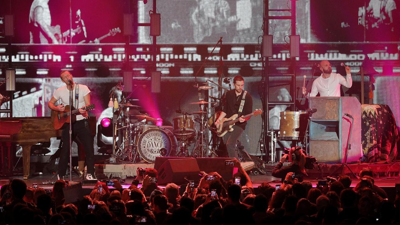 La banda inglesa Coldplay