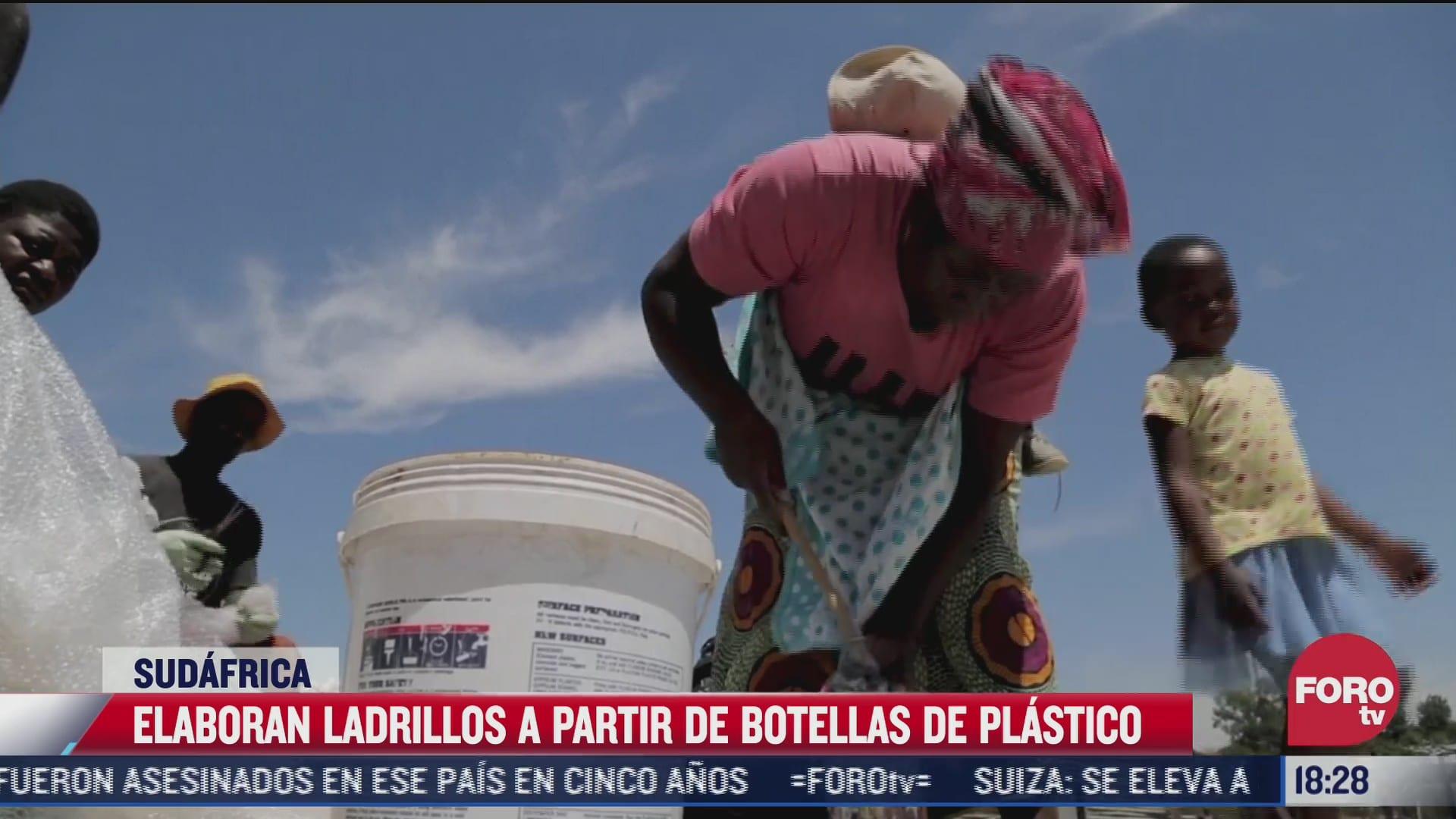 la basura es convertida en ladrillos en sudafrica
