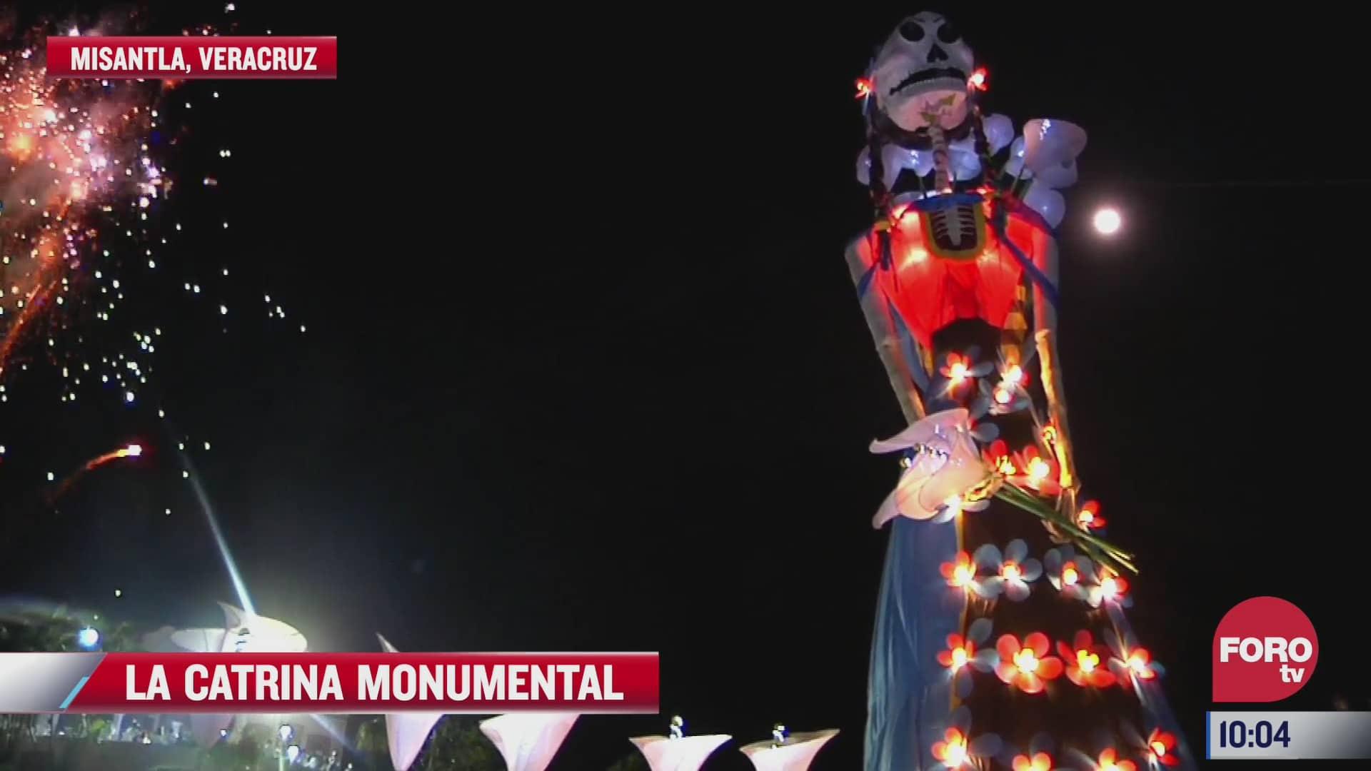 la catrina monumental de misantla veracruz