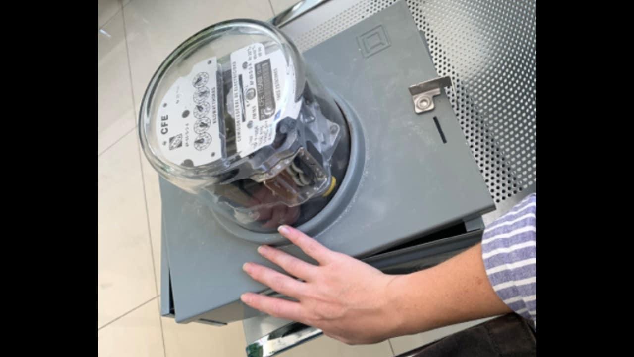 Arranca medidor de luz CFE viral