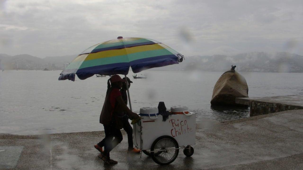Guerrero está en alerta por sistema de baja presión que convertirse en ciclón tropical