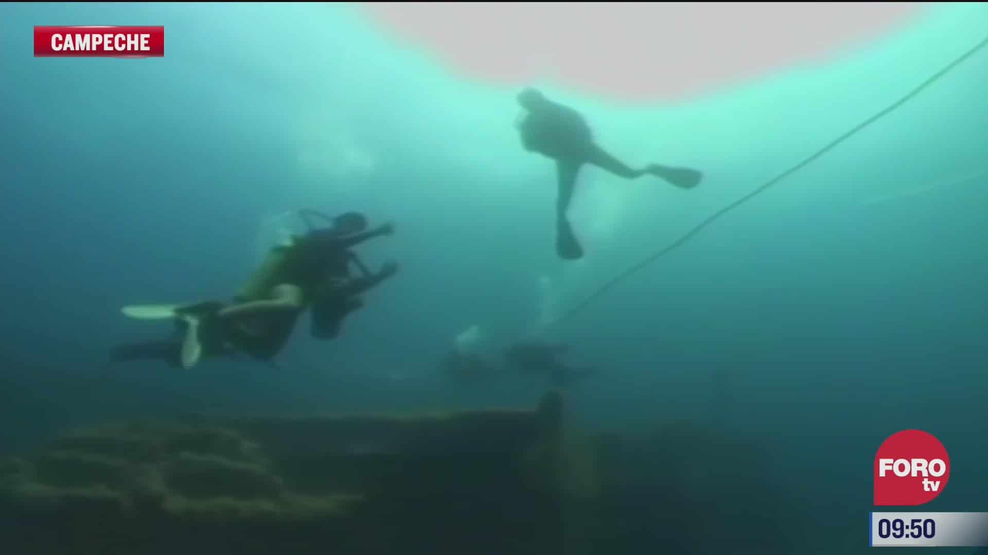los historicos naufragios en el mar de campeche