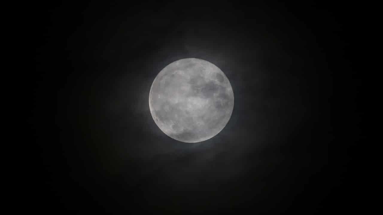 luna llena, luna del cazador, astronomía, calendario lunar