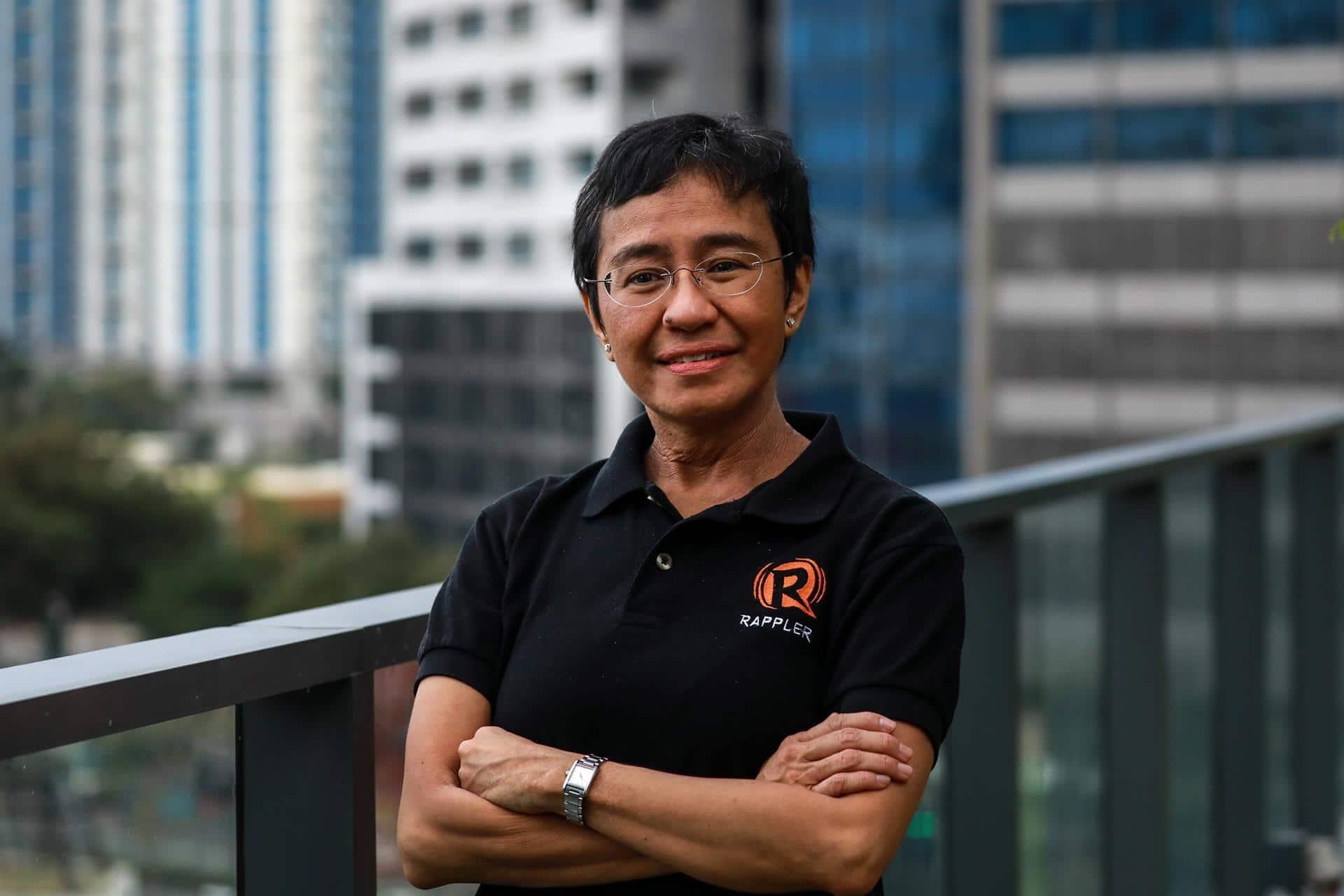 María Ressa dedica su Nobel de la Paz a todos los periodistas del mundo