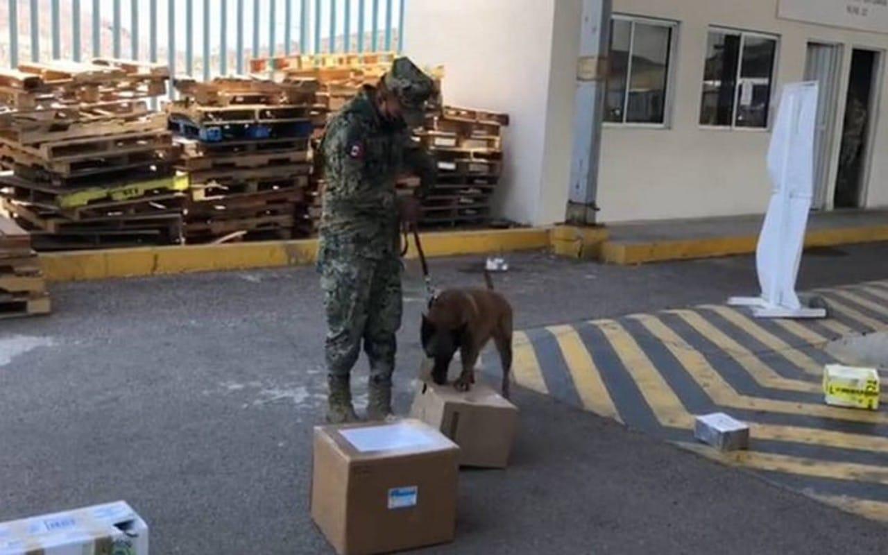 Marina incauta de 443 kilos de metanfetaminas en Baja California.