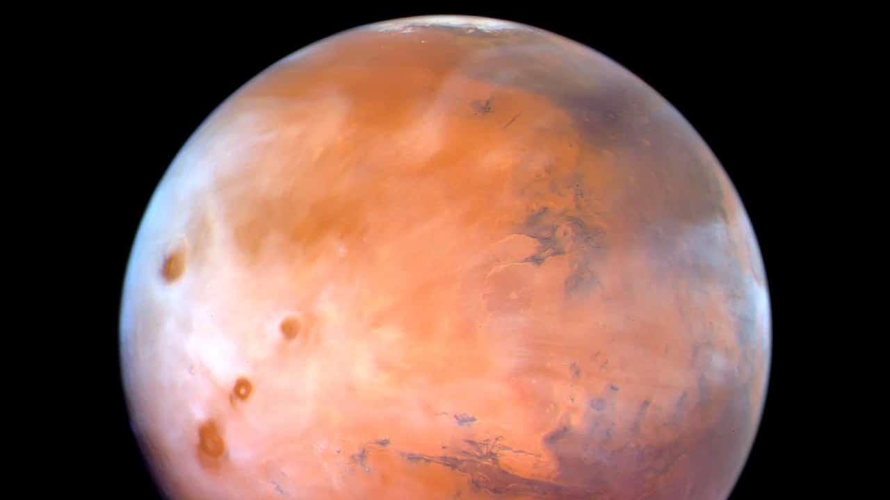 Imágenes revelan altas concentraciones de oxígeno en atmósfera de Marte