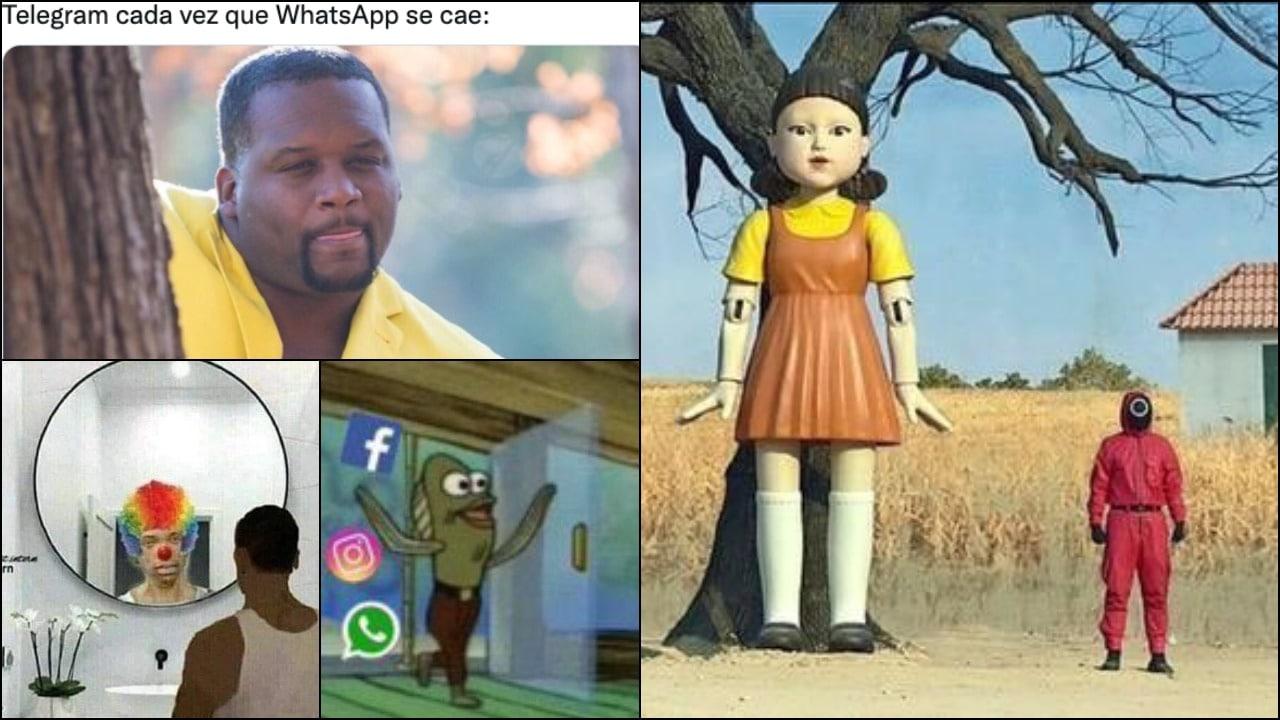 Memes de nueva caída de WhatsApp, Facebook e Instagram este 4 de octubre