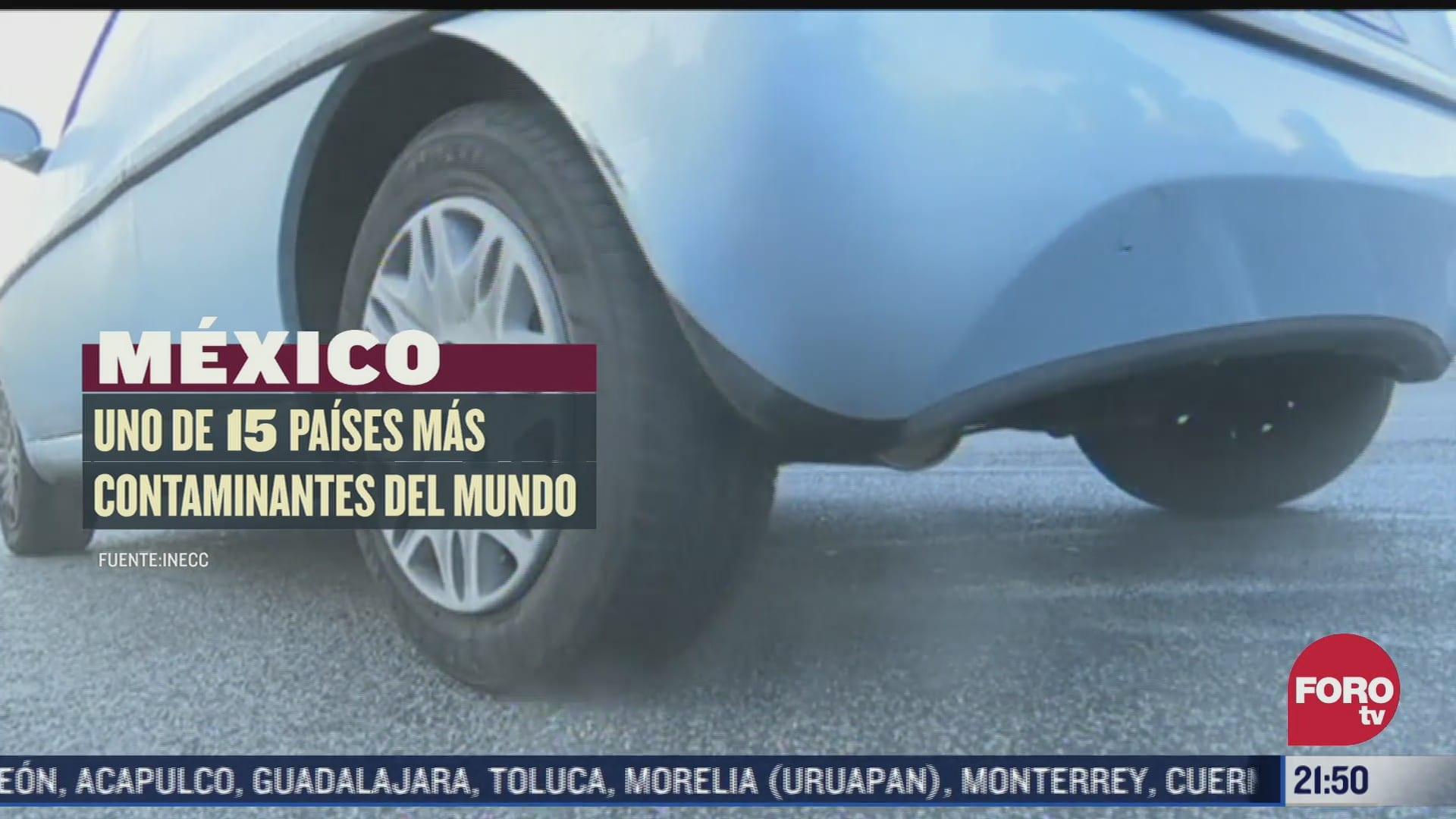 mexico uno de los 15 paises mas contaminantes del mundo